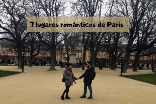 7 lugares románticos de París