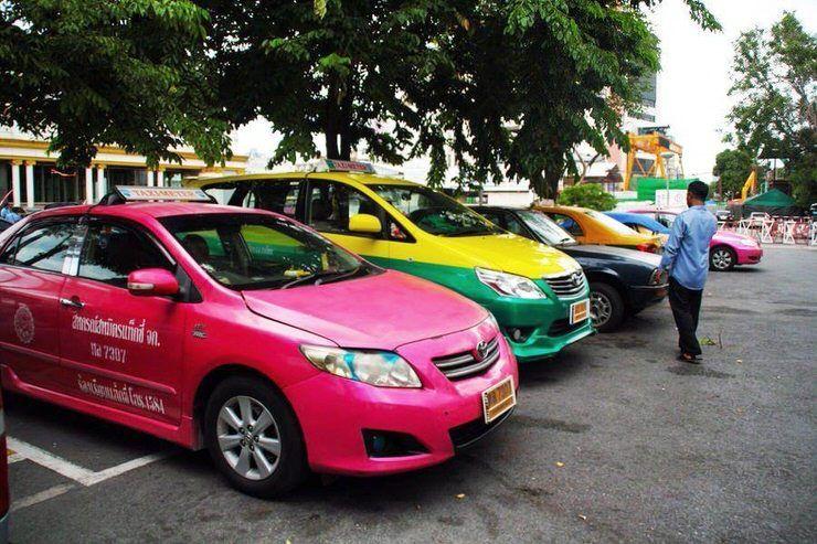 precio del taxi en Bangkok