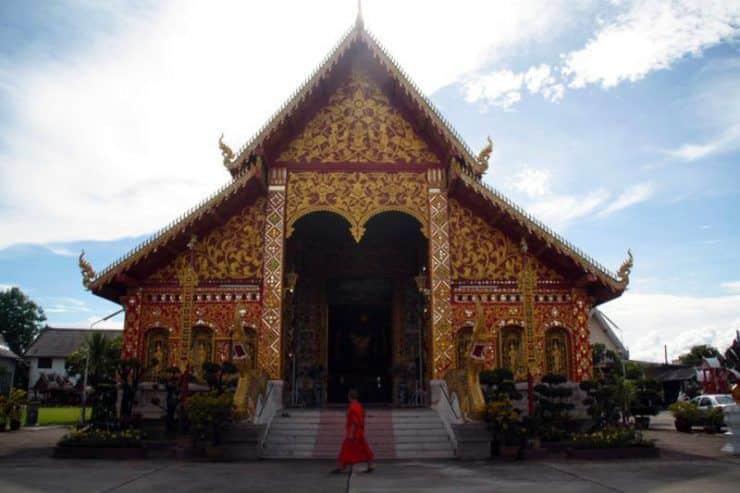 Templo en Chiang Rai