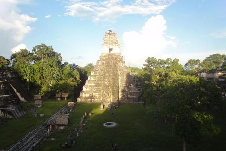 El Templo IV de Tikal