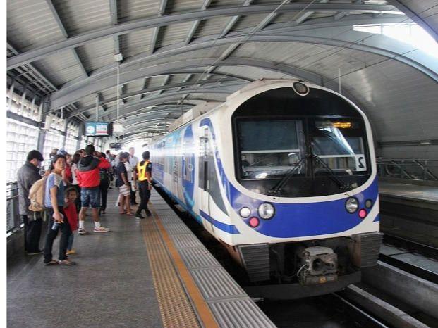 Tren al aeropuerto de Bangkok
