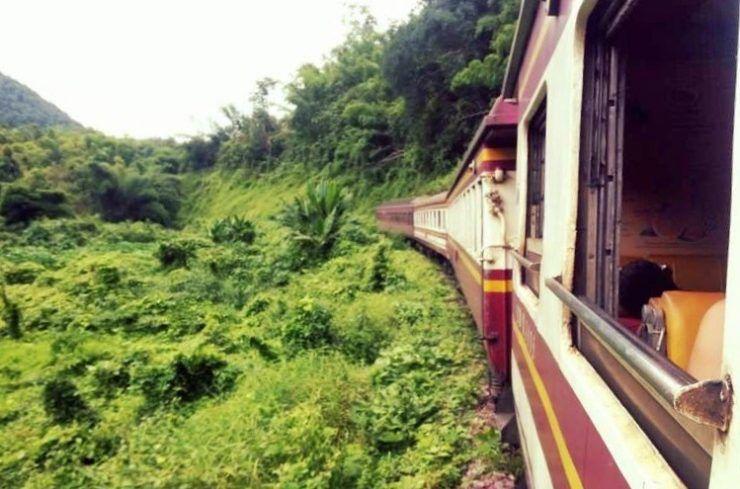 tren nocturno a Chiang Mai