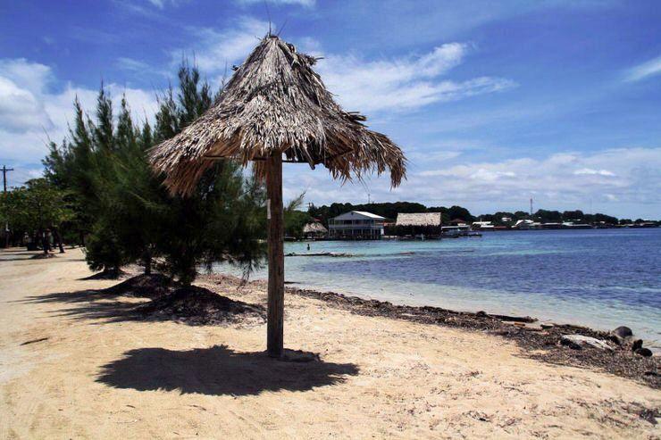 playa de Utila