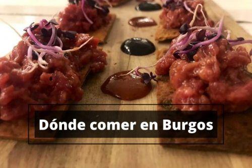 Comer en Burgos