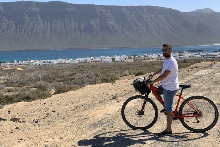 Ruta en bici por la Graciosa