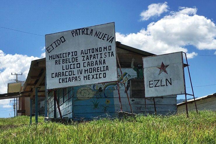 poblado en Chiapas
