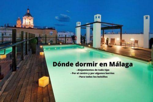dormir en Málaga
