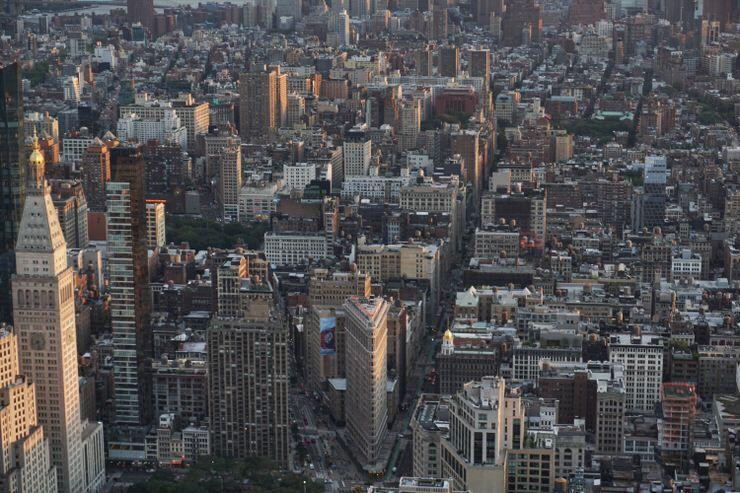 nueva York Helicóptero Manhattan