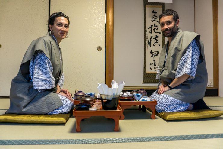 Dormir en un monasterio budista
