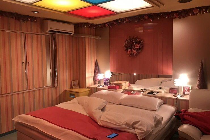 dormir el un love hotel