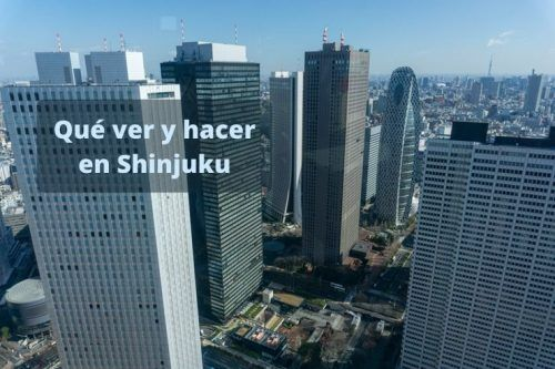 Qué hacer en Shinjuku
