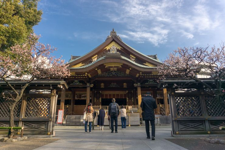 Yushima Tenmangu Shire