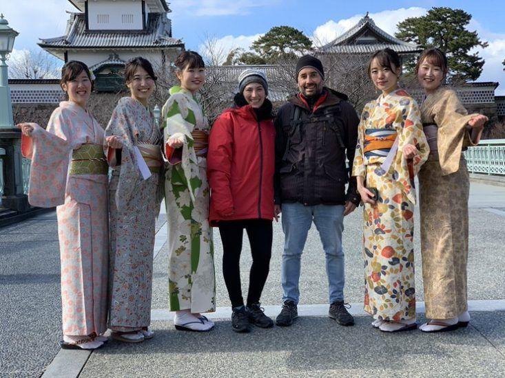 Alquilar un kimono