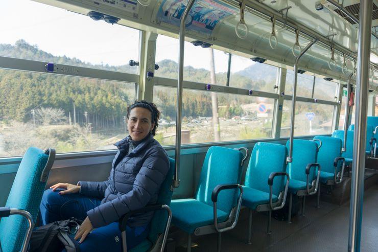 Autobús de Tsumago a Magome
