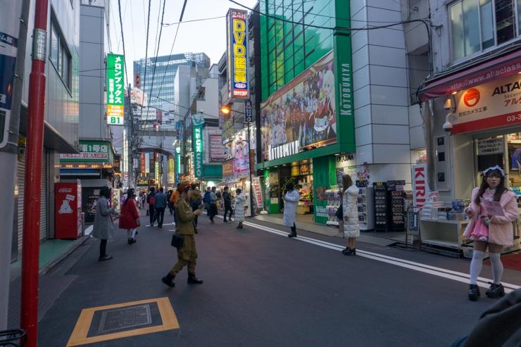 casa de cambio de Akihabara