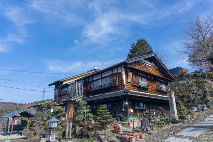casa entre Magome y Tsumago