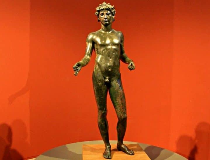 Efebo del Museo de Antequera