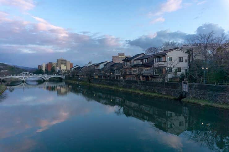 Kanazawa, puerta a los Alpes Japoneses.