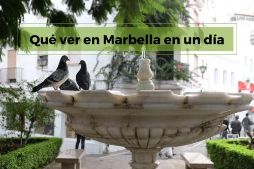 Marbella en un día