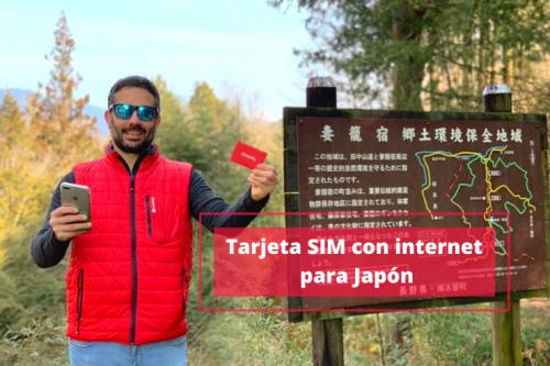 Tarjeta SIM con internet en Japón: opciones y precios