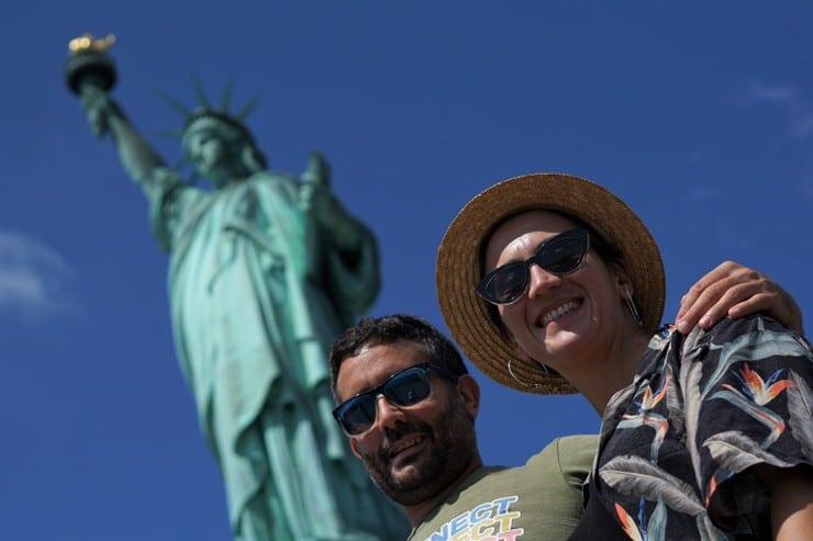 Jose y Gloria en Nueva York
