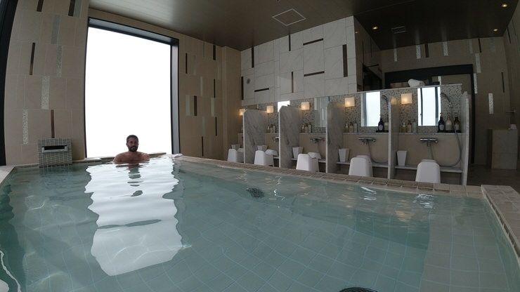 bañarte en un onsen