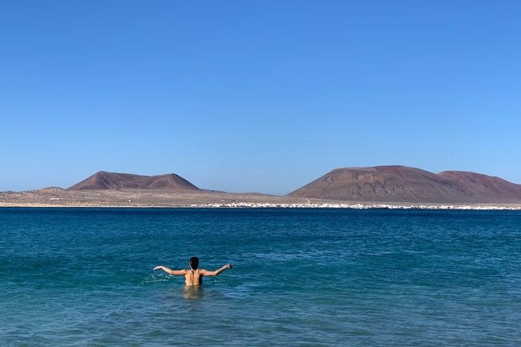 mejor playa de Lanzarote