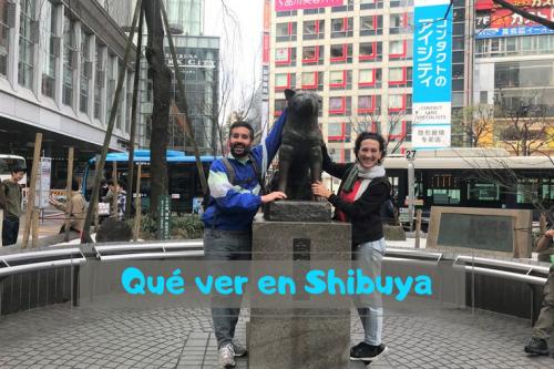 cosas que ver en Shibuya