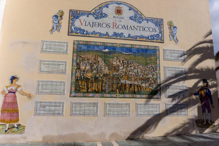 Mural de los Viajeros Románticos
