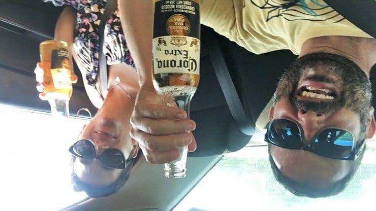 En coche por México