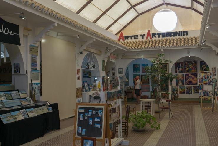 Mercado de Arte y Artesanía de Conil
