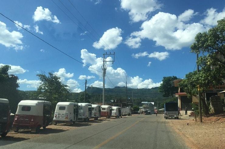 Tuk tuks en México