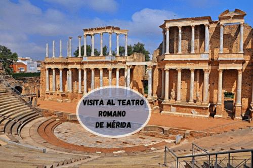 visitar el Teatro Romano de Mérida