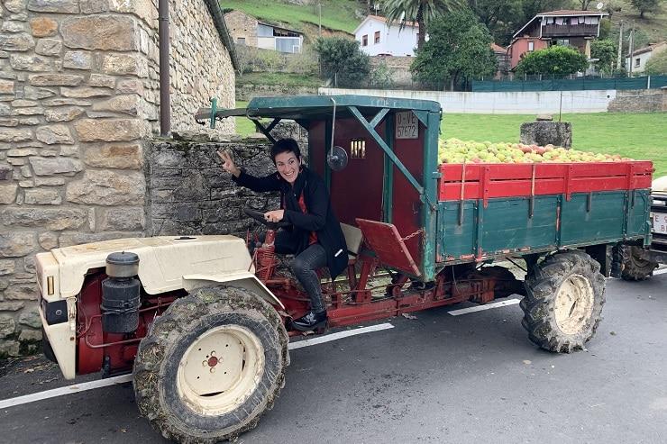 transporte alrededores Gijón
