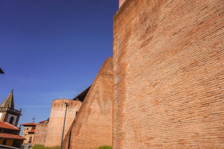 muralla romana de Gijón