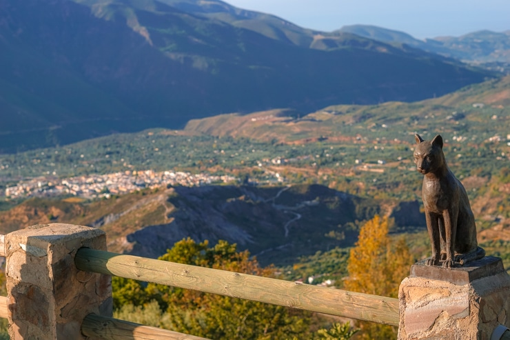 vistas desde Soportújar