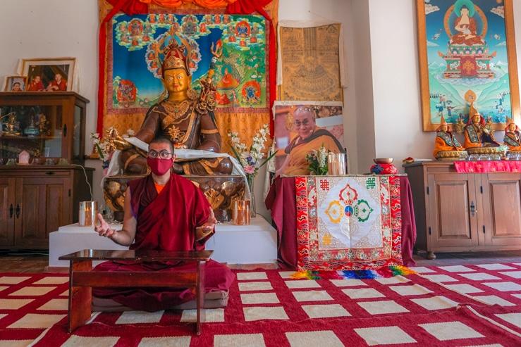 sala meditación O Sel Ling