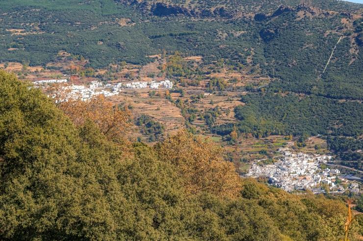 ruta del barranco de Poqueira