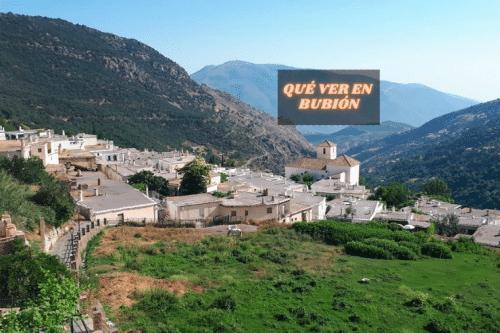 Qué ver y hacer en Bubión