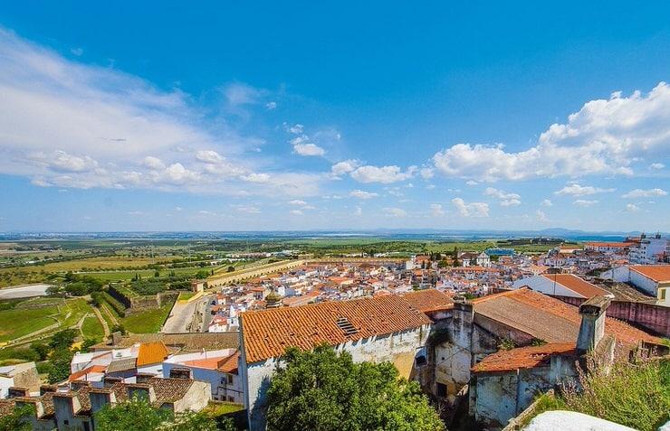 Elvas, bonito pueblo en los alrededores de Évora