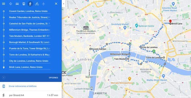 Tres días en Londres