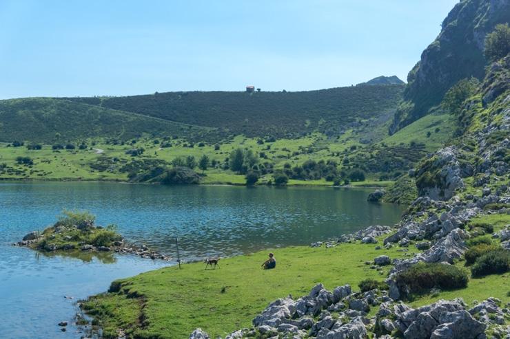 cómo subir a los Lagos de Covadonga