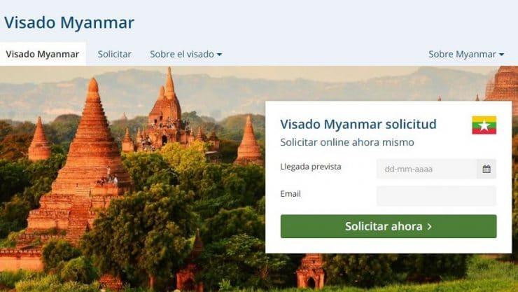 cómo sacarte el visado de Myanmar