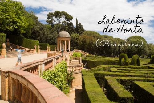 El Parque del Laberinto de Horta en Barcelona