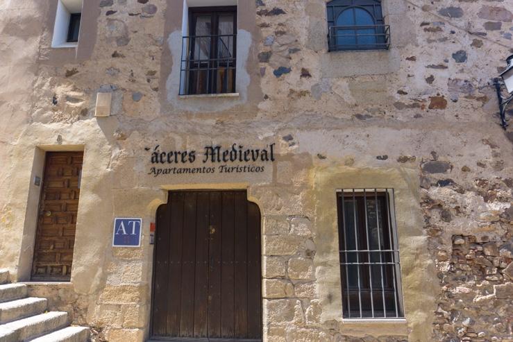 alojamiento en Cáceres