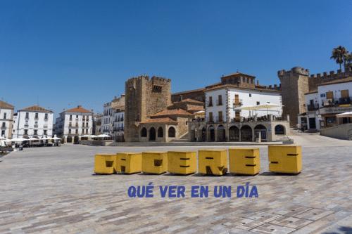que ver en Cáceres en un día