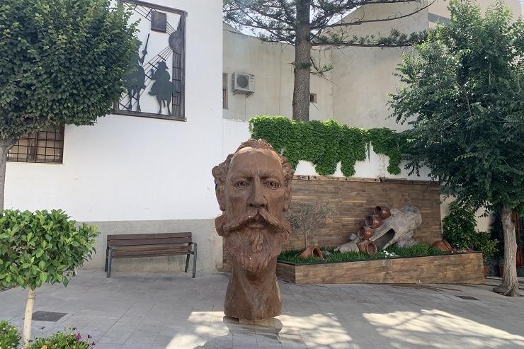 Busto de Don Quijote de Órgiva