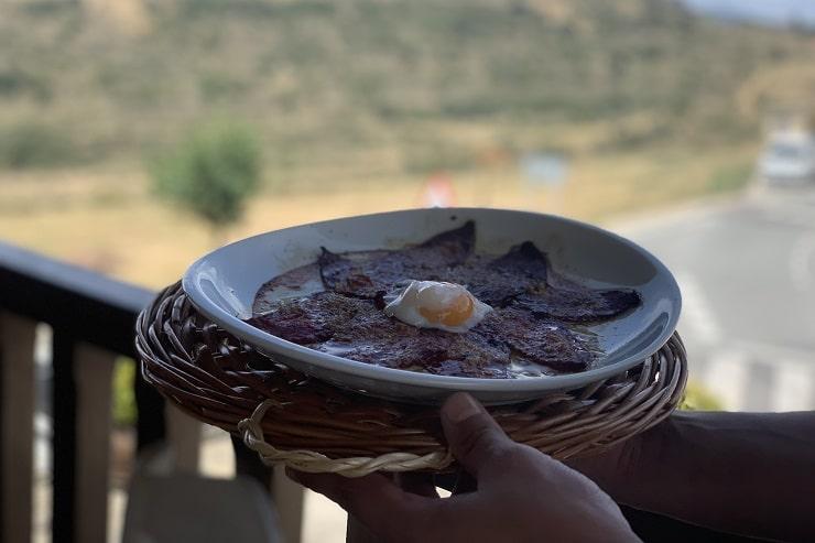 Comer en Ujué