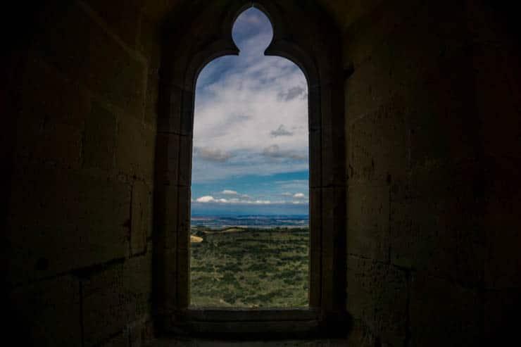 Vista desde la Iglesia-Fortaleza