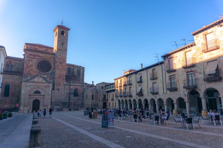 La Plaza Mayor de Sigüenza